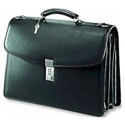 Classic Flapover Leather Briefbag