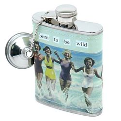 Born to Be Wild Hip Flask