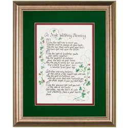 Framed Irish Wedding Blessing