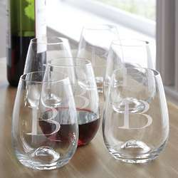 Tuscany Classics Stemless Wine Glass Set