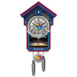 University of Kansas Jayhawks Basketball Cuckoo Clock