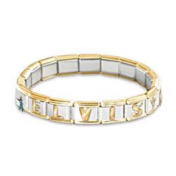 Forever Elvis Italian Charm Bracelet