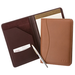 Leather Junior Writing Padfolio