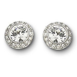 Swarovski Solitaire Angelic Earrings