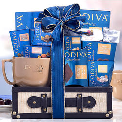 Godiva Chocolate and Coffee Collection Gift Trunk