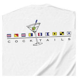 Signal Flag Cocktails T-Shirt