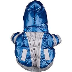 Blue Vintage Aspen Small Dog Ski Jacket