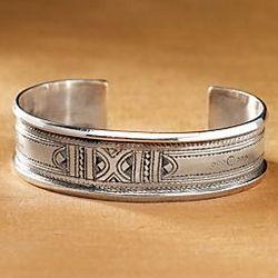 Tuareg Silver Cuff Bracelet