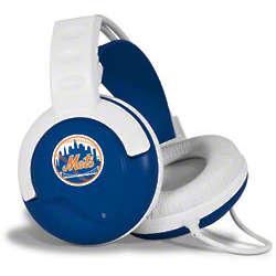New York Mets Fan Jams Headphones