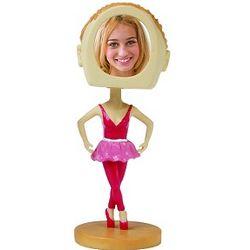 Photo Frame Ballerina Bobblehead