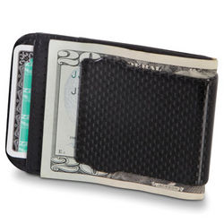 Carbon Fiber Radio Blocking Money Clip
