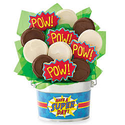 Superhero 9-Piece Cookie Flower Pot