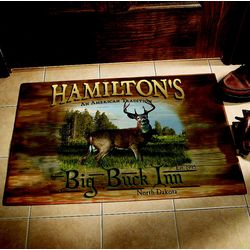 Personalized Large Big Game Doormat