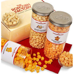 3-Canister Cheese Lover's Assortment Gift Set