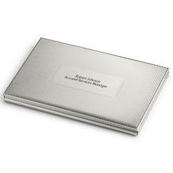 Weave Texture Business Card Case