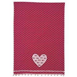 Heart XOXO Vintage-Inspired Kitchen Towel