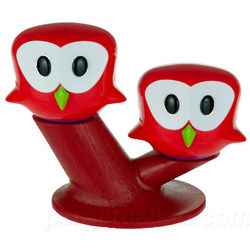 Perched Owl Salt and Pepper Shakers