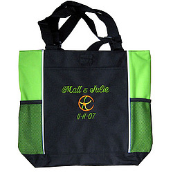 Personalized Ladies Zippered Sport Tote