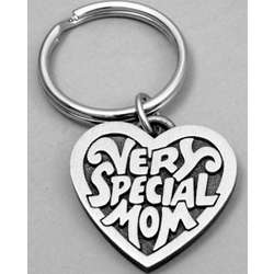 Engravable Very Special Mom Keyring