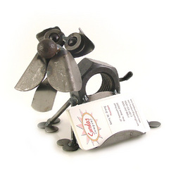 Chubby Nuts Dog Business Card Holder