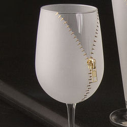 Zipper Wine Glasses