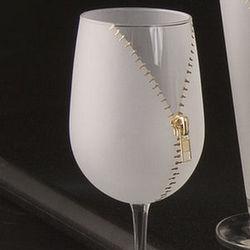 Zipper Wine Glasses