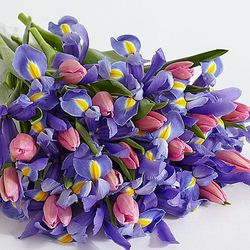 Deluxe Spring Blooms Flower Bouquet
