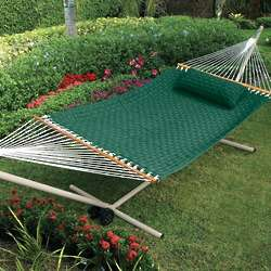 Weave Hammock and Stand