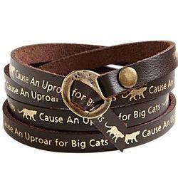 ''Cause an Uproar'' Wrap Bracelet