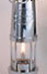 Chrome Yacht Oil Lamp