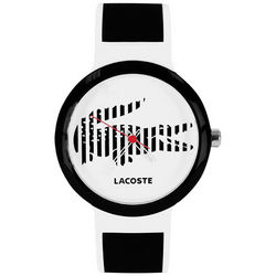 Lacoste Black and White Goa Tennis Watch