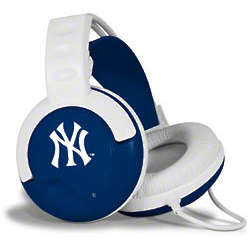 New York Yankees Fan Jams Headphones