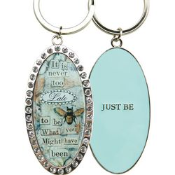 Just Be Key Ring