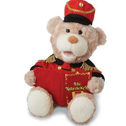 Nutcracker Animated Musical Teddy Bear