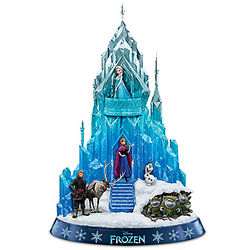 Disney's Frozen Ice Palace of Elsa Sculpture
