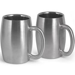 Stainless Steel Beer Mugs