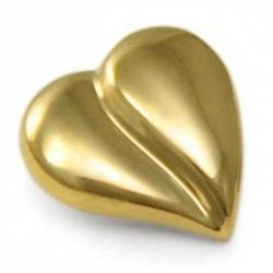 10K Gold Pocket Heart with Verse