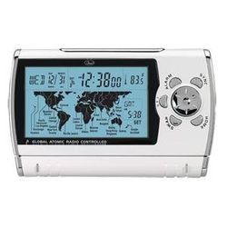 World Sync Time Zone Map Travel Atomic Alarm Clock