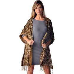 Leopard Print Pashmina Wrap
