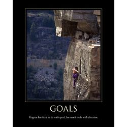 Personalized Goals Inspirational Premium Luster Print