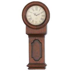 School House Wood Clock