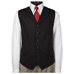 Linen Six-Button Vest