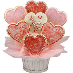 With All My Heart Sugar Cookie Basket
