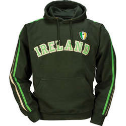 Pullover Retro Ireland Hoodie