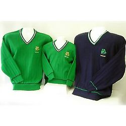 Children's Ireland Embroidered Cricket Sweater