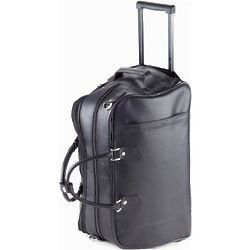 Quinley Leather Rolling Duffle