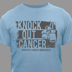 Knock Out Prostate Cancer T-Shirt