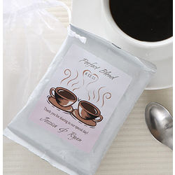 Perfect Blend Custom Coffee Favors