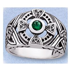 Men's Sterling Silver Celtic Ring