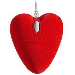 Velvet Heart Computer Mouse